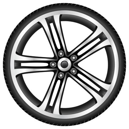 spoke: aluminum wheel