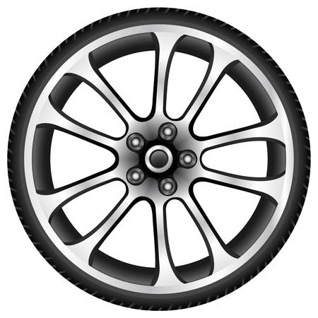 drives: aluminum wheel