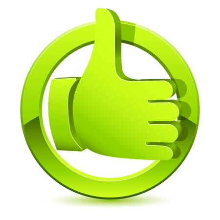 like icon: like button, thumb up