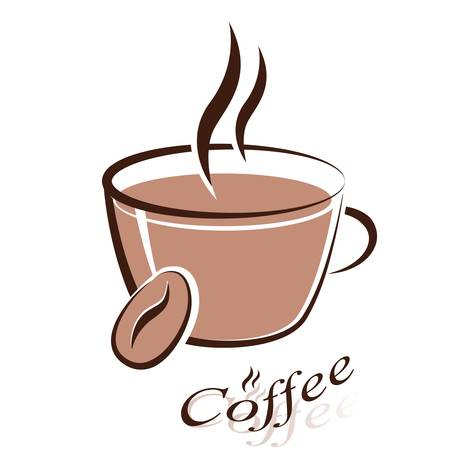 coffee cup - sign Stock Vector - 14587940