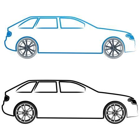 car symbols Vector