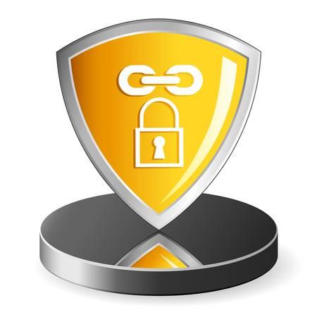 security icon Stock Vector - 15779036