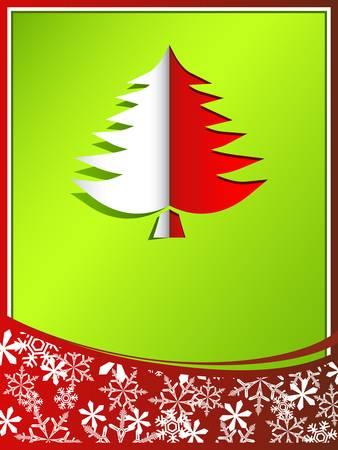 pinetree: Tarjeta de Navidad con Pinetree