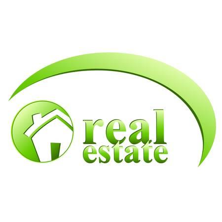 real estate investment: real estate sign