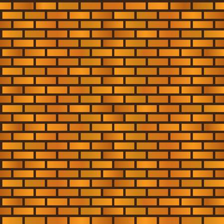 seamless brick wall background Stock Vector - 16137523
