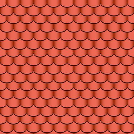 shingles: clay roof tiles seamless background