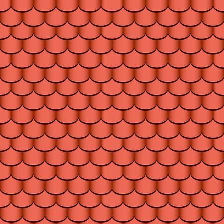 tuiles en terre cuite seamless background