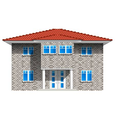 house, real estate icon Stock Vector - 16210160