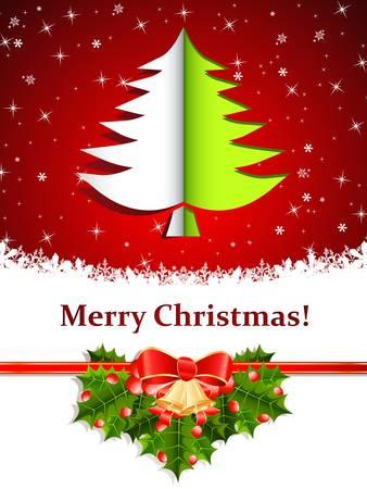 christmas card Stock Vector - 16311605