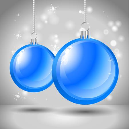 background with Christmas balls Stock Vector - 16530375