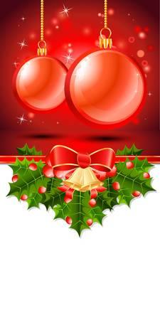 christmas list: christmas banner  christmas card