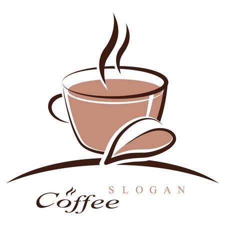 kávéscsésze - jel