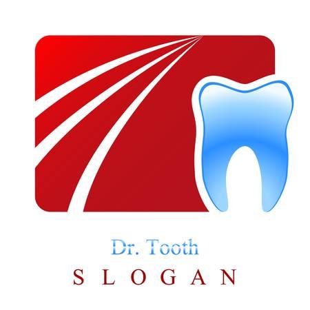 dental surgery: dentist  tooth sign Illustration
