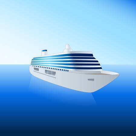 caribbean cruise: cruise ship
