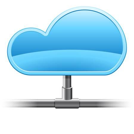 cloud computing Stock Vector - 17089822