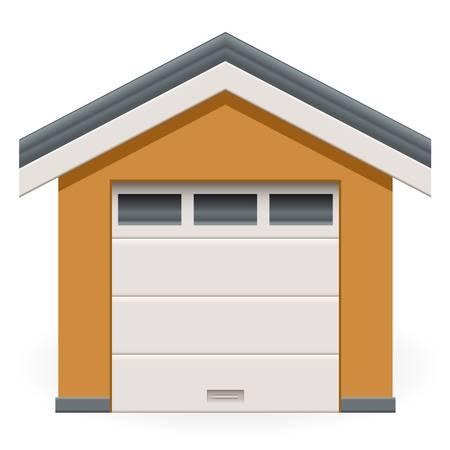 auto garage Stock Illustratie