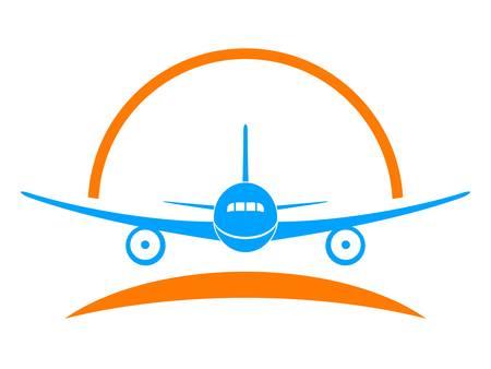 billets d avion: avion, avion - signe, un symbole