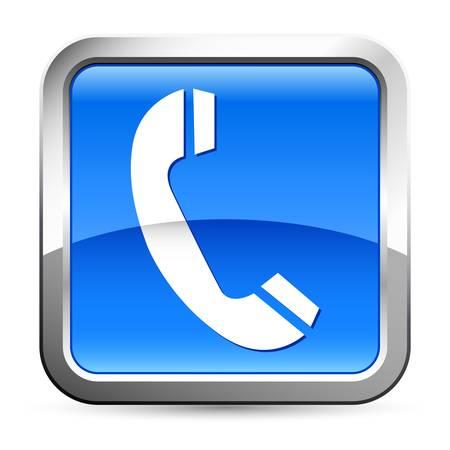 phone button: telefoon - knop