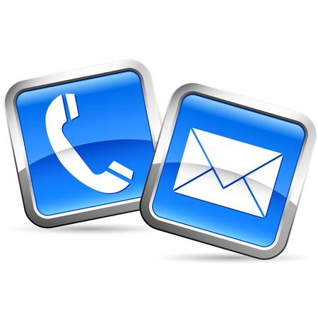 email us: e-mail and phone buttons