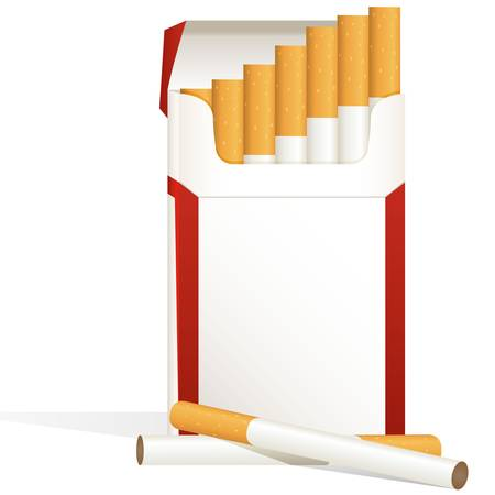 cigarette pack Stock Vector - 17958926