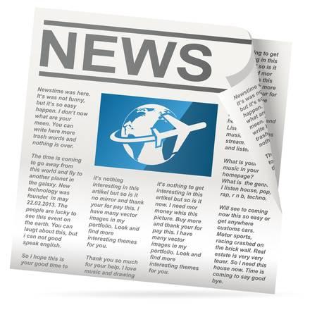 reportage: newspaper icon