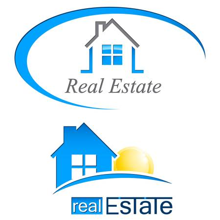 house, real estate signs