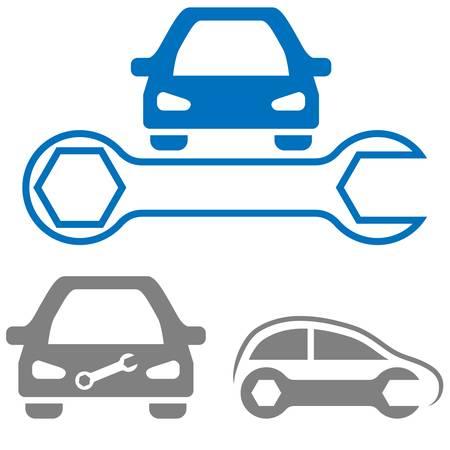 자동차의 상징 일러스트