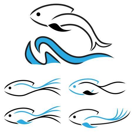 fishy: fish icons