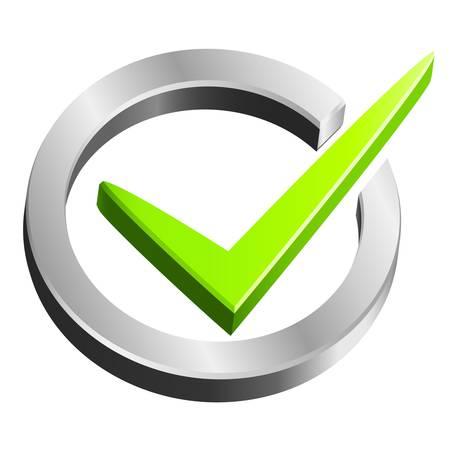 check mark symbol Stock Vector - 20352843