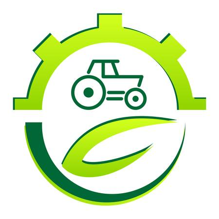 agriculture industrial: green farming sign