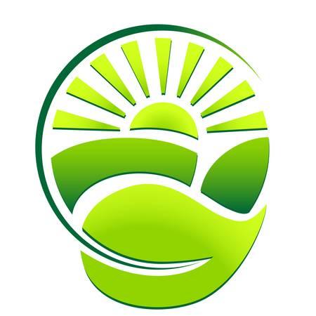 green eco sign Vettoriali