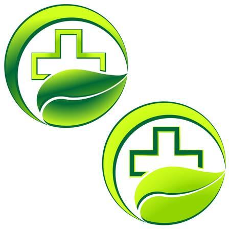 pharmacy sign Illustration