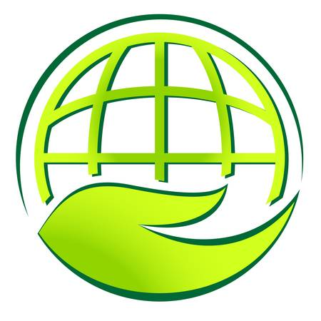 world agricultural: environment sign Illustration