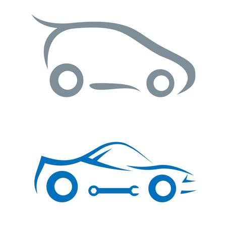 car outline: car symbol