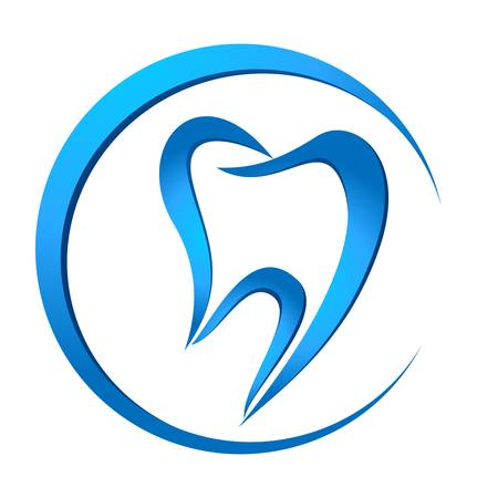 tandheelkundige teken Stock Illustratie