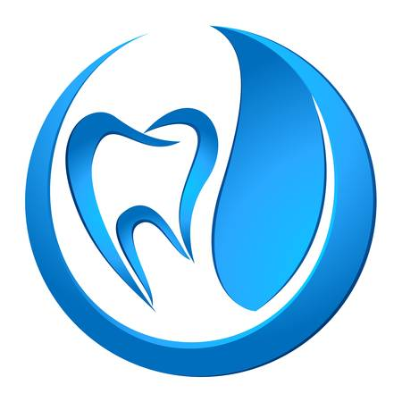 dentist icon: dental care sign