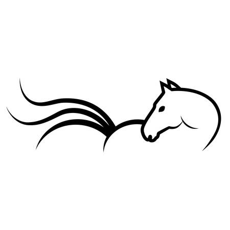horse sign Vector