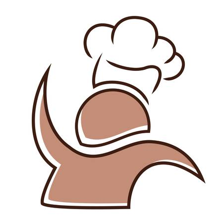 chef s hat: chef icon