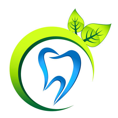 dental care sign  向量圖像