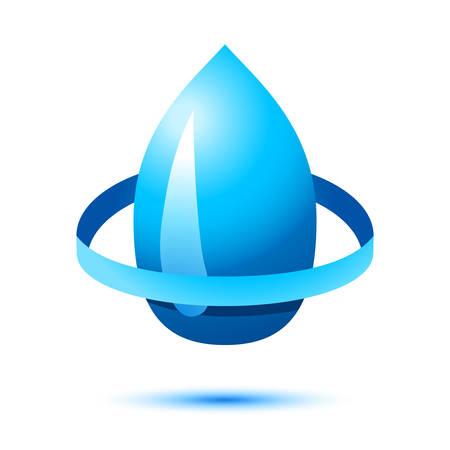 water drop - vector icon Ilustração