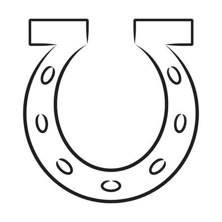 horse shoe: horseshoe