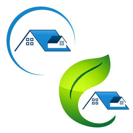 maison écolo - icônes de l'immobilier