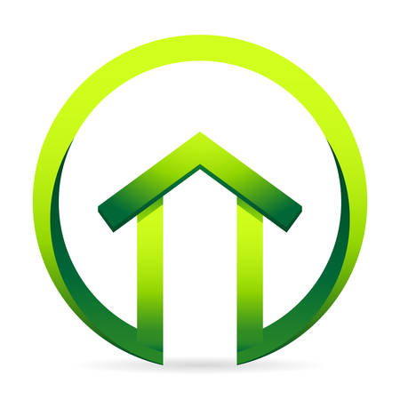 energy efficient: real estate icons