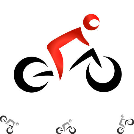 pedaling: bicycle icons