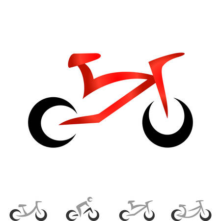 bicycling: bicycle icons