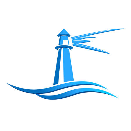 coastlines: lighthouse icon