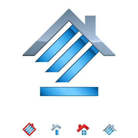 real estate icons  Vectores