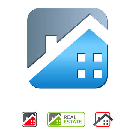 housetop: real estate icons  Illustration