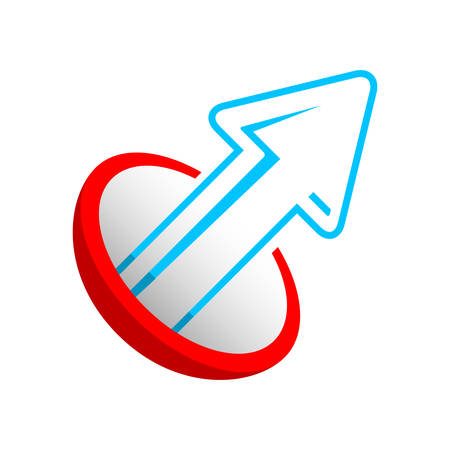 trend, arrow icon Vector
