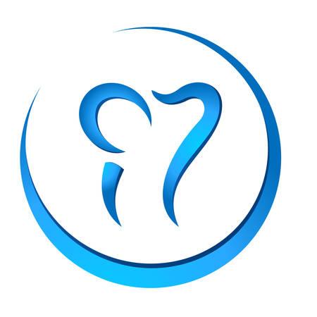 tooth button Stock Vector - 24622945